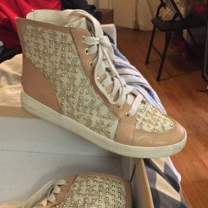 Michael Kors studded sneakers